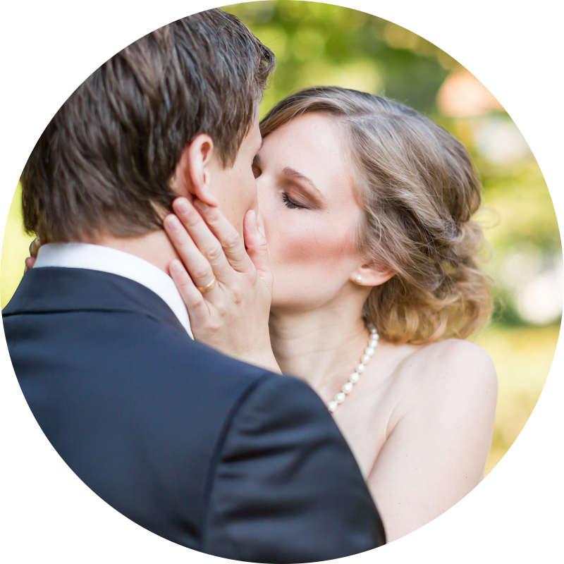 Hochzeitsfotograf bildecht für natürliche Hochzeitsbilder